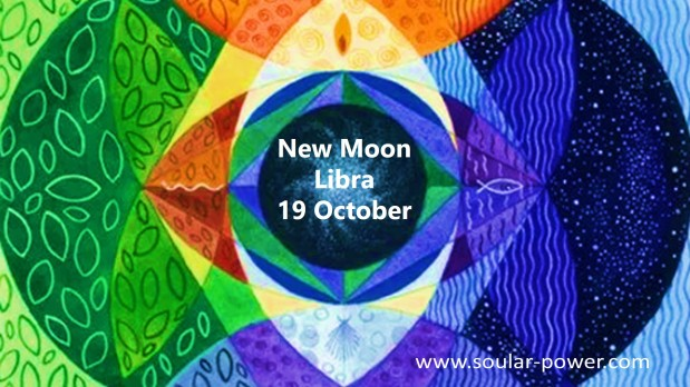 New Moon October 19th in Libra